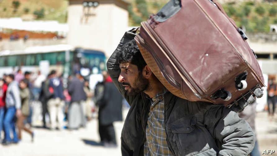 نازح من الغوطة إلى ريف حماه