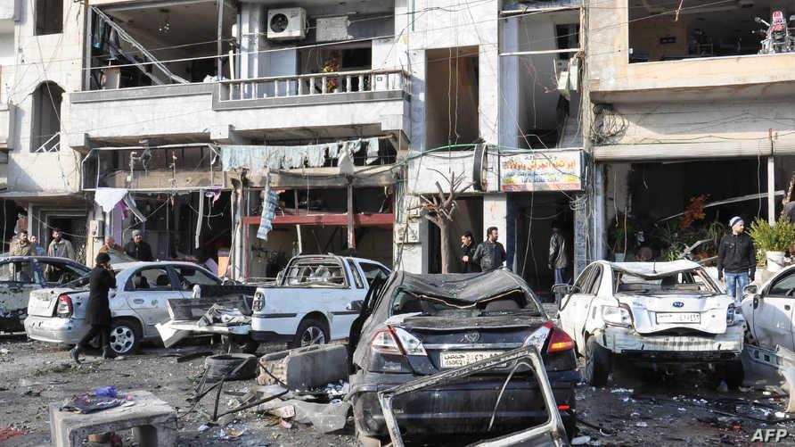 مخلفات تفجيري حمص