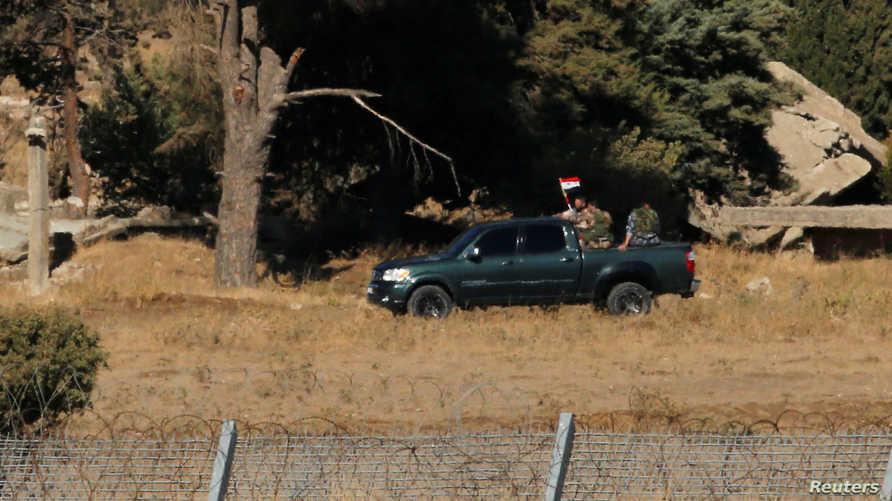 قوات تابعة للنظام السوري في القنيطرة