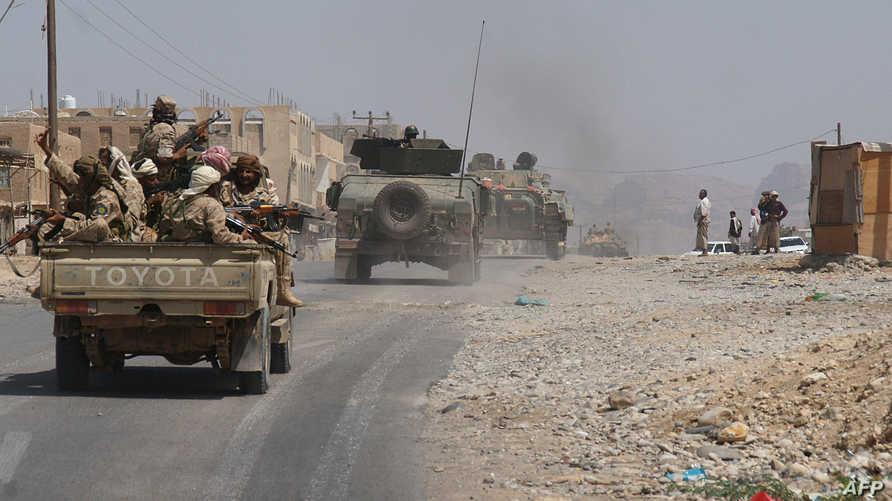 الجيش اليمني في شبوة- أرشيف