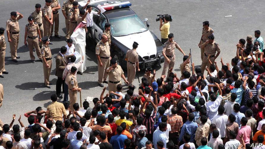 تظاهرة لعمال آسيويين في الكويت للمطالبة بأجور أحسن