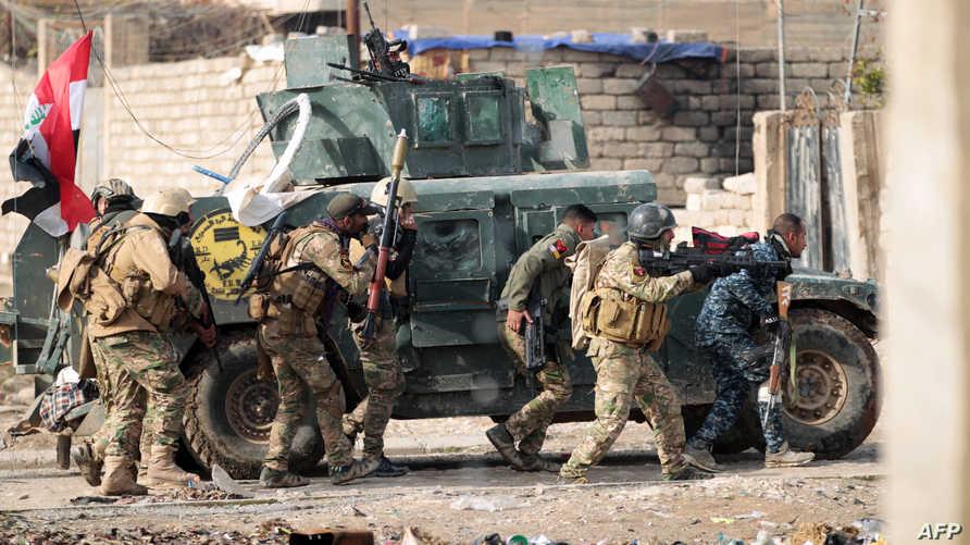 قوات عراقية شرقي الموصل