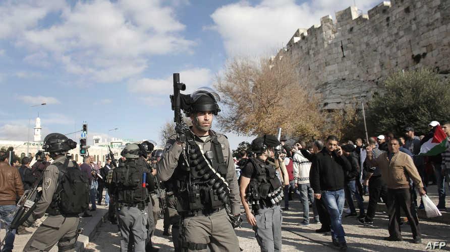 قوات إسرائيلية في القدس