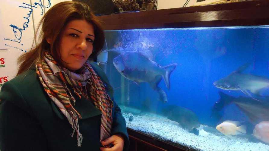 الصحافية العراقية أفراح شوقي- الصورة من فيسبوك