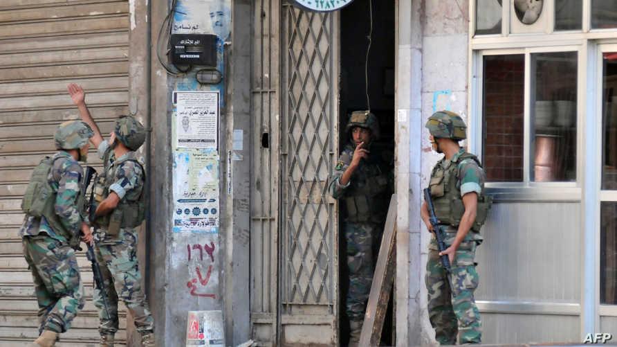 عناصر في الجيش اللبناني في طرابلس- أرشيف