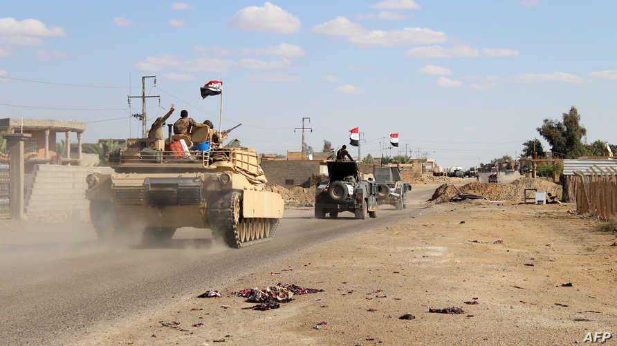 قوات عراقية غرب الأنبار (أرشيف)
