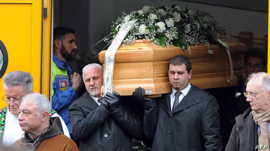 جنازة الطالب جوليو ريجيني- أرشيف