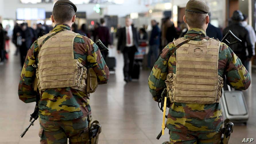 استفار أمني في بلجيكا