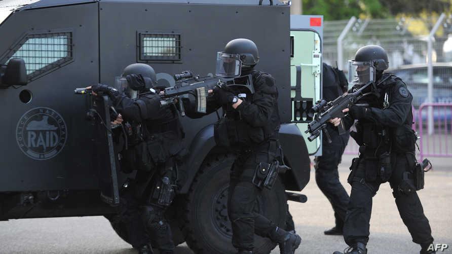 عناصر من الشرطة الفرنسية في تولوز -أرشيف