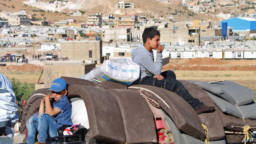أطفال سوريا في طريقهم للعودة ضمن عملية ترحيل من لبنان