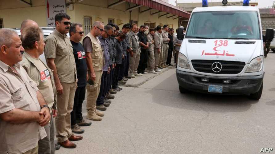 سيارة إسعاف في العراق، أرشيف