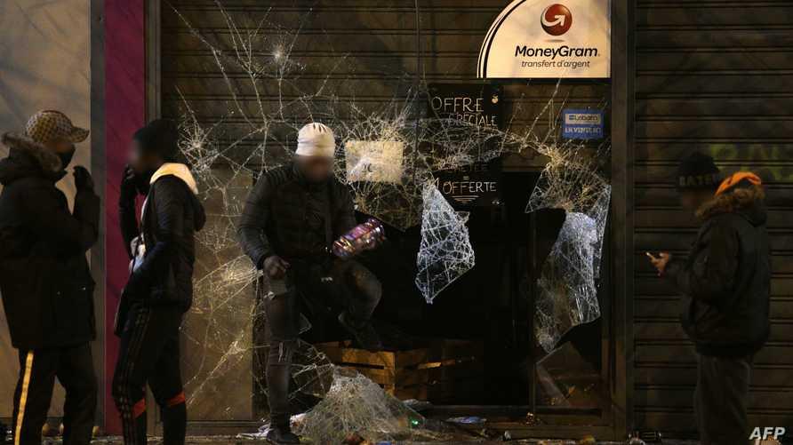 أعمال عنف قرب باريس