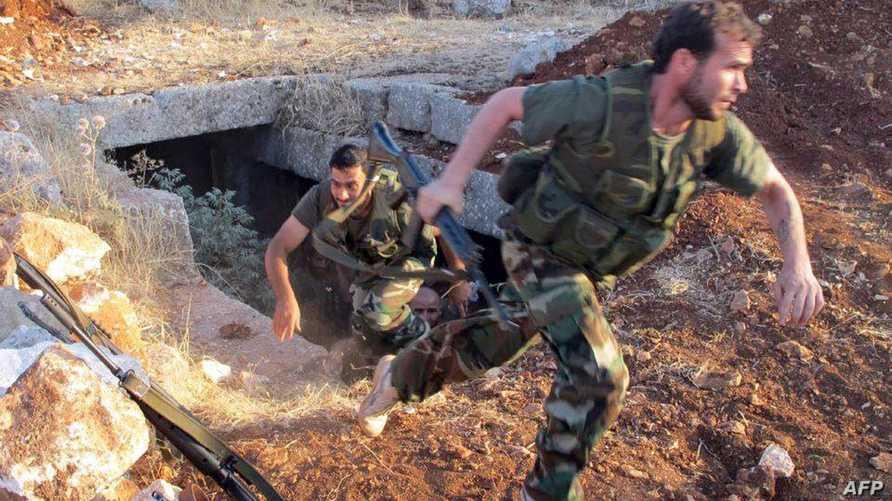 جنود في الجيش السوري الحر