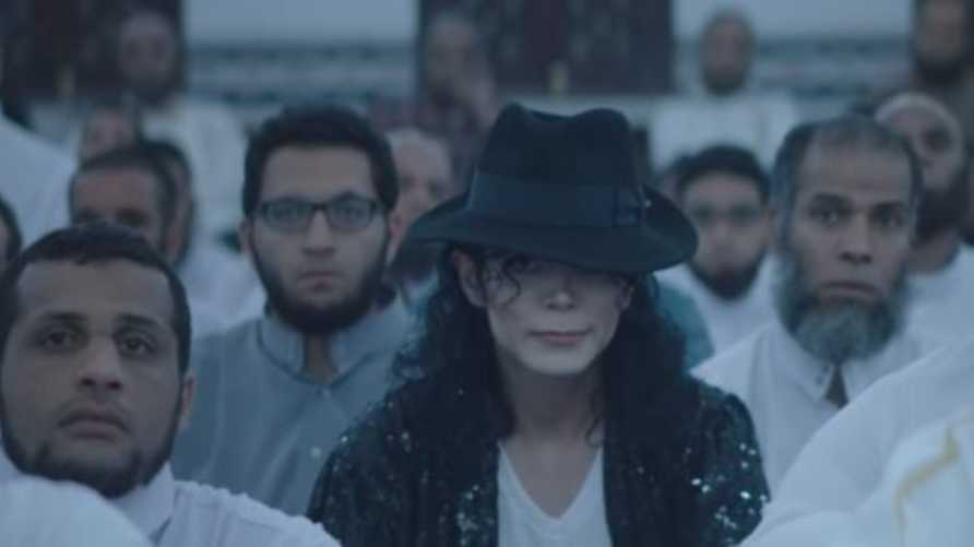 """لقطة من فيلم """"الشيخ جاكسون"""" - إخراج عمرو سلامة"""