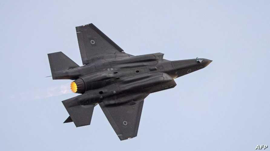 طائرة حربية تابعة للجيش الإسرائيلي