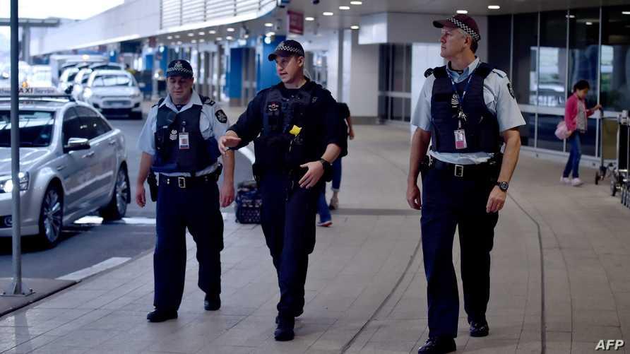 الشرطة الأسترالية في مطار سيدني