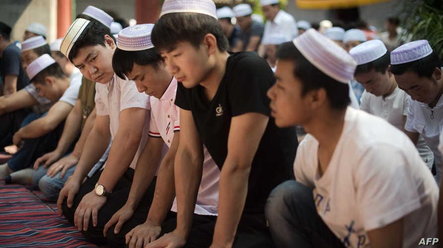 مسلمون صينيون في بكين