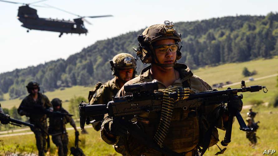 أفراد من القوات الخاصة الأميركية خلال تدريب