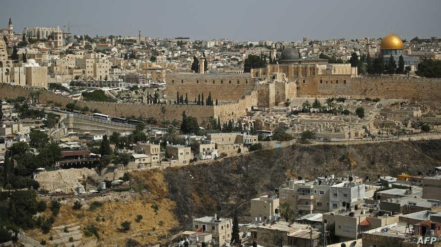 جانب من البلدة القديمة في القدس