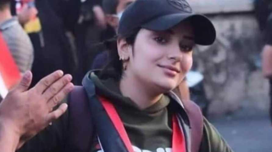 الناشطة العراقية ماري محمد
