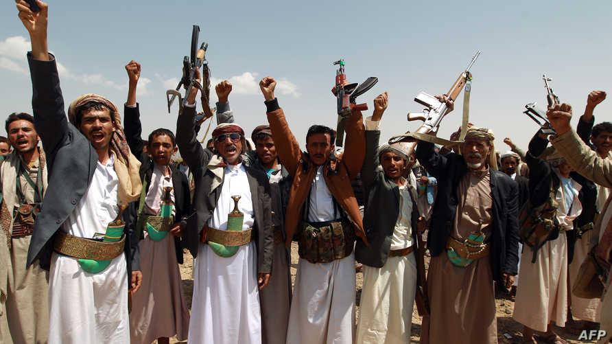 مسلحون حوثيون- أرشيف