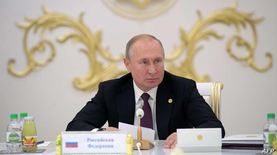 الرئيس الروسي فلاديمير بوتين. أرشيفية