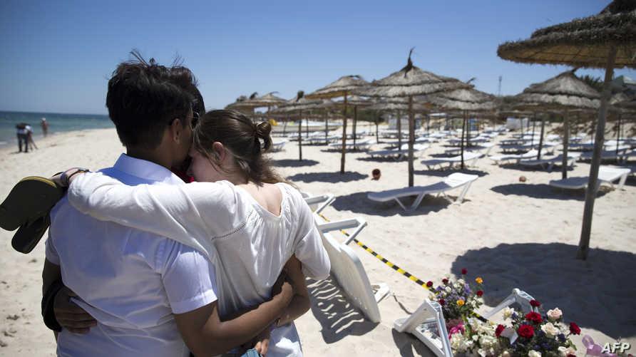 حزن يخيم على تونس بعد الهجوم على منتجع في سوسة