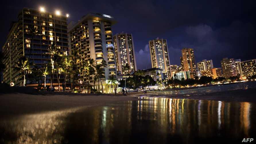 مشهد من مدينة هونولولو في هاواي
