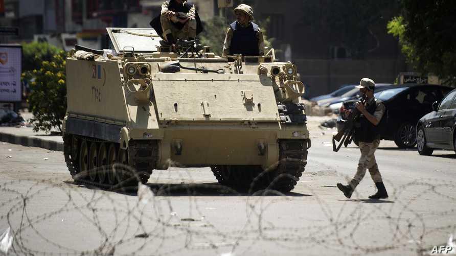 دبابة تابعة الجيش المصري-أرشيف