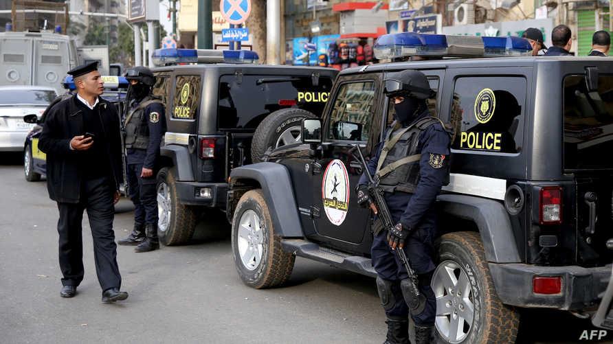 عناصر من الشرطة المصرية - صورة أرشيفية