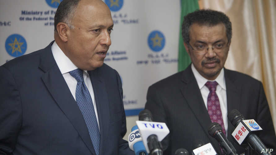 وزيرا خارجية مصر وإثيوبيا