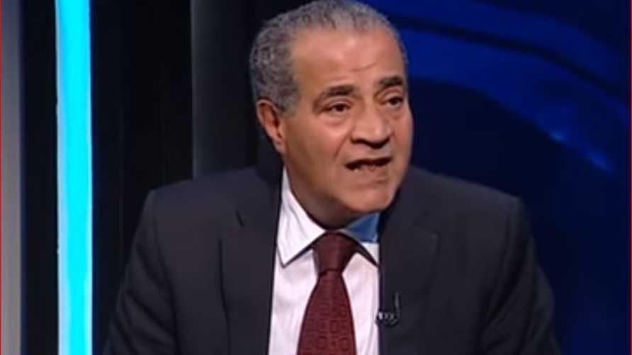 وزير التموين والتجارة الداخلية المصري علي المصيلحي- أرشيف