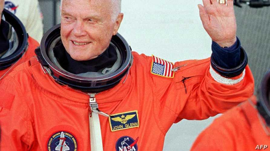 رائد الفضاء الأميركي جون غلين