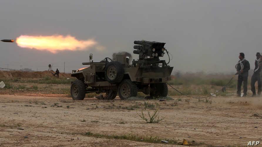 اشتباكات بين القوات العراقية وعناصر داعش في تكريت