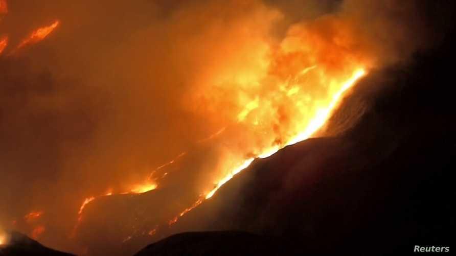 حريق جديد في كاليفورنيا