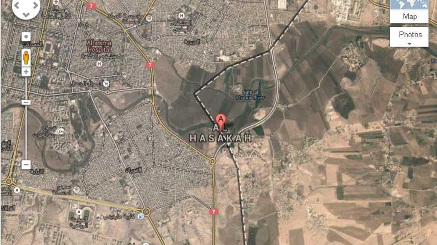 محافظة الحسكة شمالي سورية