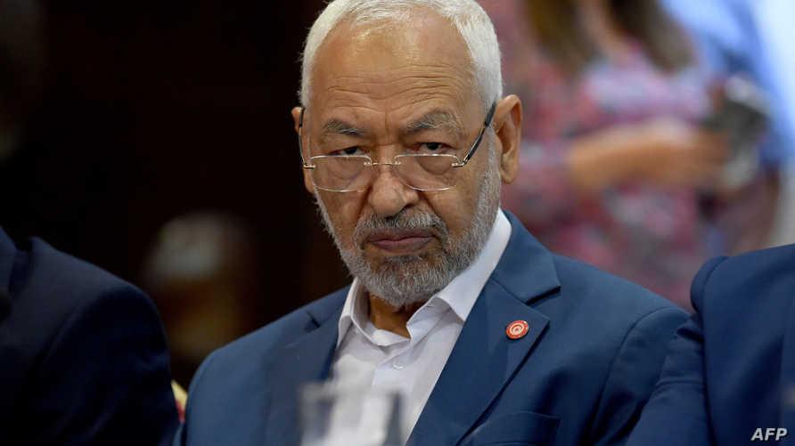 رئيس حركة النهضة راشد الغنوشي