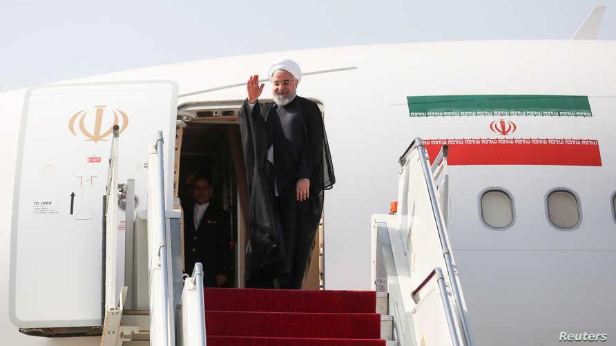 روحاني قبيل مغادرته إلى واشنطن