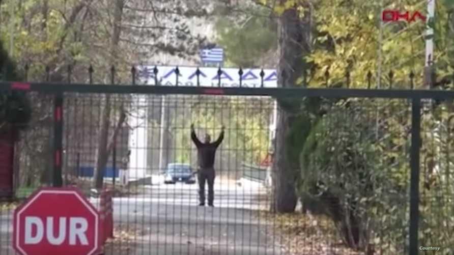 الداعشي عالق بين تركيا واليونان