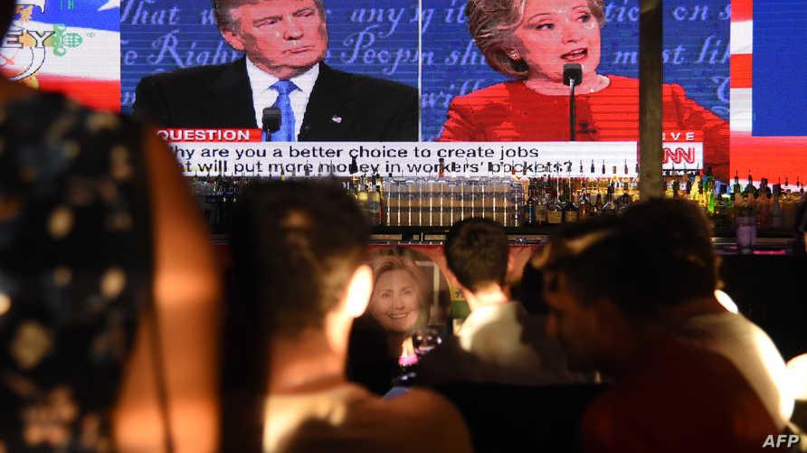 المرشحان لانتخابات الرئاسة الأميركية هيلاري كلينتون ودونالد ترامب