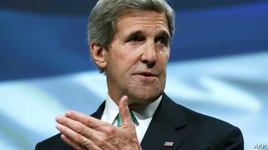وزير الخارجية الأميركي جون كيري