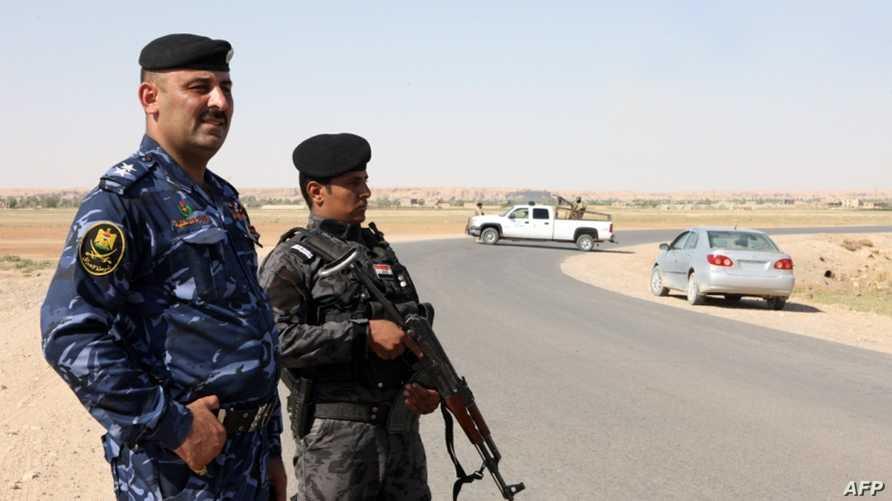 نقطة تفتيش على الحدود العراقية السورية