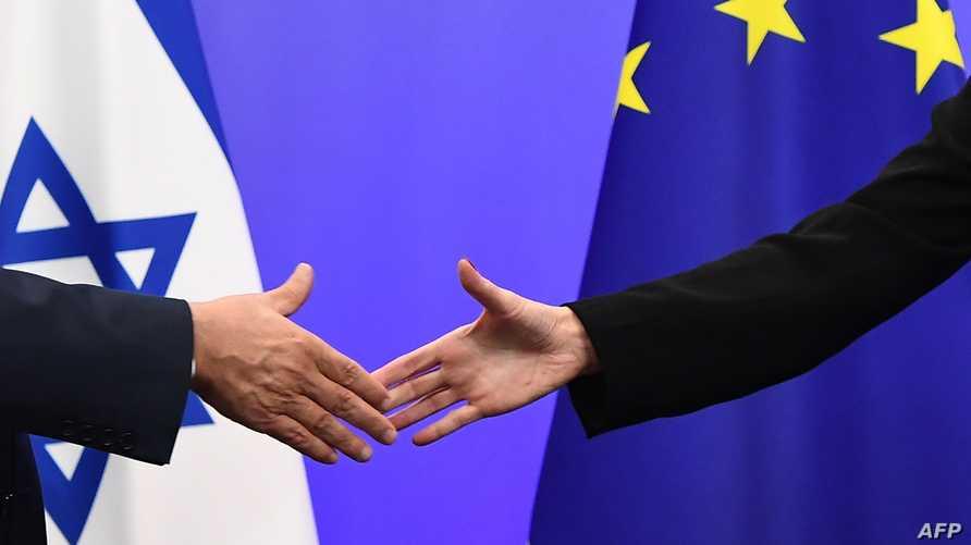 يعد الاتحاد الأوروبي أكبر شريك تجاري لإسرائيل (أ ف ب)