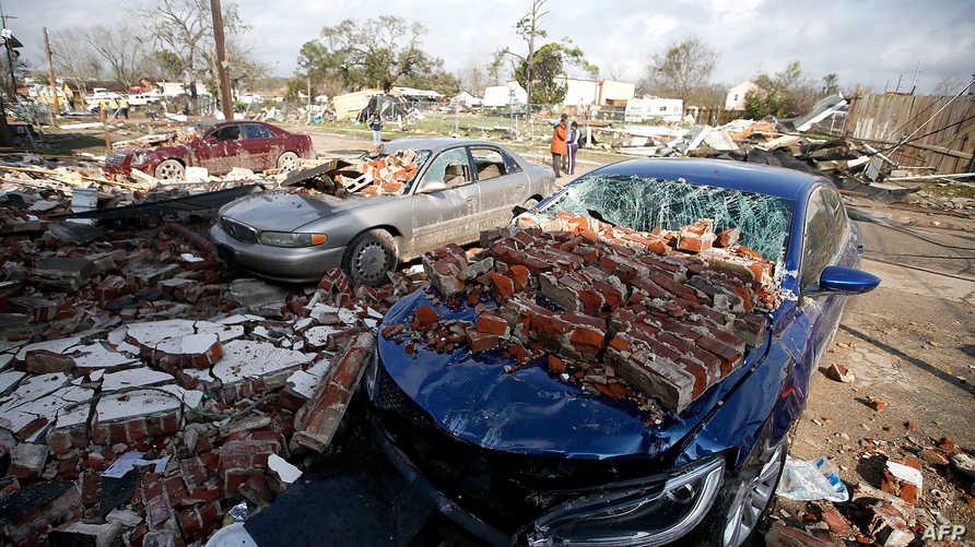 دمار جراء إعصار قي نيو أورلينز