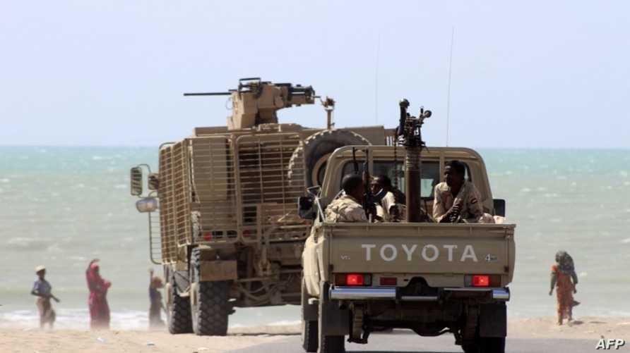 قوات عسكرية تابعة للحكومة اليمنية