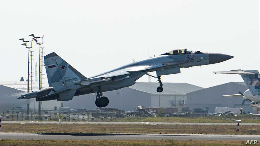 طائرة سوخوي (Su-35) الروسية
