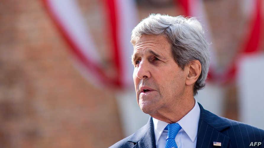 وزير الخارجية الأميركية جون كيري في اجتماعات النووي الإيراني بفيينا