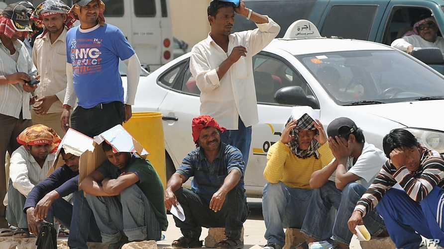 عمال أجانب في السعودية