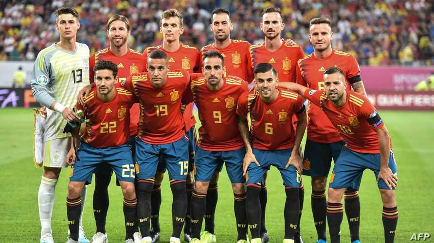 منتخب إسبانيا لكرة القدم - أرشيف