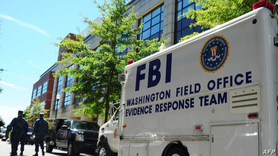 سيارة تابعة لمكتب التحقيقات الفيدرالي